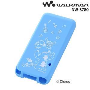 ☆ ディズニー WALKMAN NW-S780シリーズ用 シリコンジャケット スティッチ RT-DSS78A/ST (メール便送料無料)|bigstar
