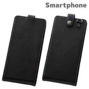☆ スマートフォン汎用 Multi Case 縦開き型汎用ケース ブラック RT-SPG/B|bigstar