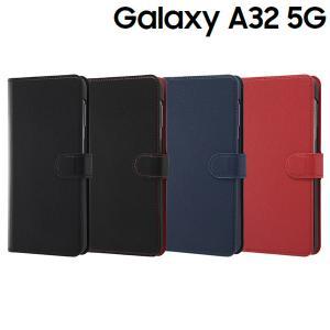 Galaxy A32 5G 手帳型ケース シンプル マグネット RT-GA32ELC1|bigstar