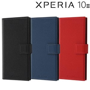 Xperia 10 III 耐衝撃 手帳型レザーケース TETRA RT-RXP10M3TBC3|bigstar