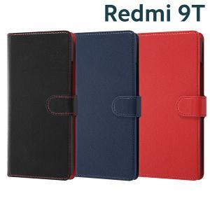 Xiaomi Redmi 9T 手帳型ケース シンプル マグネット RT-XR9TELC1|bigstar