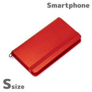 ☆ 各種スマートフォン対応 SLIDE スライドマルチフリップカバー Sサイズ レッド PG-MFPS07RD(メール便送料無料)|bigstar