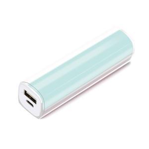 ☆ iCharger スティック型 モバイルバッテリー 2,200mAh ブルー PG-LBJ22A02BL|bigstar