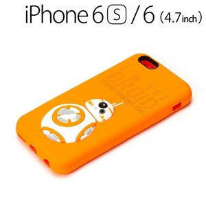 ☆ スターウォーズ (STAR WARS) iPhone6s iPhone6 (4.7インチ) 専用 シリコンケース BB-8 PG-DCS074BB(レビューを書いてメール便送料無料) bigstar