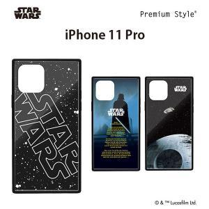 □ スターウォーズ (STAR WARS) iPhone 11 Pro (5.8インチ) ガラスハイブリッドケース PG-DGT19A30SW/PG-DGT19A31DV/PG-DGT19A32SW (メール便送料無料)|bigstar