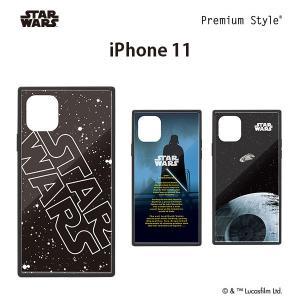 □ スターウォーズ (STAR WARS) iPhone 11 (6.1インチ) ガラスハイブリッドケース PG-DGT19B30SW/PG-DGT19B31DV/PG-DGT19B32SW (メール便送料無料)|bigstar