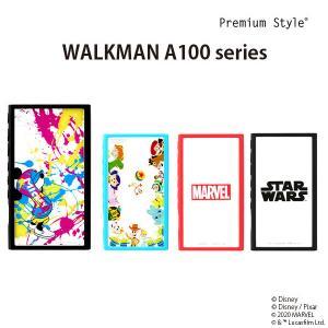 □ ディズニー/ピクサー/マーベル/スターウォーズ WALKMAN NW-A100用(第7/6/5世代)用ガラスタフケース (メール便送料無料)|bigstar