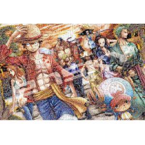 ワンピース ジグソーパズル 1000ピース ワンピースモザイクアート【上陸】 1000-586|bigstar
