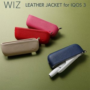 ☆ Deff IQOS 3 / IQOS 3 DUO 用 PUレザーケース WIZ Leather ...
