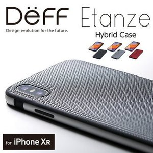 ☆ Deff iPhone XR(6.1インチ)用 HYBRID ケース Etanze(エタンゼ) ...