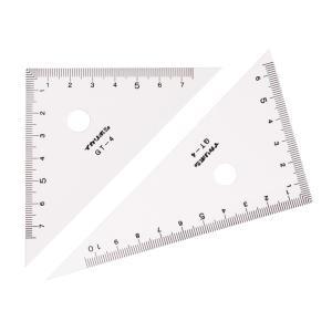 三角定規(10cm)0スタート 3307|bigstar