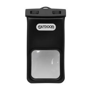 Owltech(オウルテック) OUTDOOR PRODUCTS コラボレーション スマートフォン用 防水ケース ブラック OWL-WPCSP17-BK|bigstar
