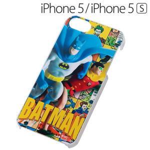 ☆ Batman ( バットマン ) iPhone SE / 5S / 5 専用 ハードケース(レトロトイ) IN-WBP5/S1(メール便送料無料)|bigstar