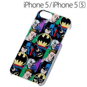 ☆ Batman ( バットマン ) iPhone SE / 5S / 5 専用 ハードケース(パターン) IN-WBP5/S3(メール便送料無料)|bigstar