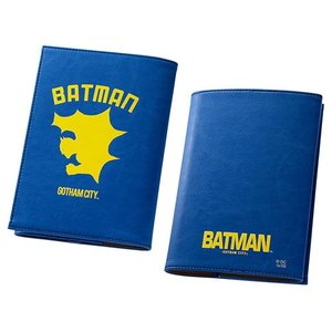 ☆ バットマン ICカードポケット付き ブックカバー バットマン IN-WBCA6/BM