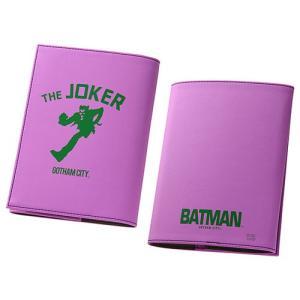 ☆ バットマン ICカードポケット付き ブックカバー ジョーカー IN-WBCA6/JK