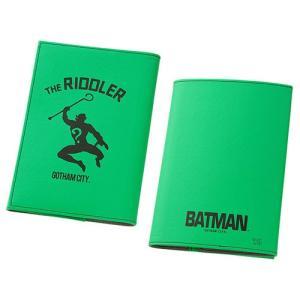 ☆ バットマン ICカードポケット付き ブックカバー リドラー IN-WBCA6/RD