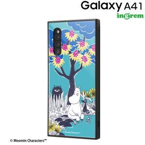☆ ムーミン Galaxy A41 専用 耐衝撃ハイブリッドケース KAKU/コミック_2 IQ-AGA41K3TB/MT010 (メール便送料無料)|bigstar
