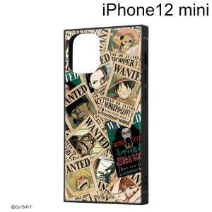 ワンピース iPhone 12 mini (5.4インチ)専用 耐衝撃ハイブリッドケース KAKU 手配書 IQ-OP26K3TB/OP007 (メール便送料無料)|bigstar