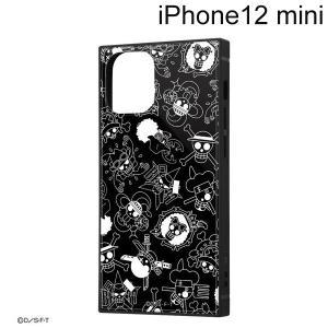 ワンピース iPhone 12 mini (5.4インチ)専用 耐衝撃ハイブリッドケース KAKU 海賊旗マーク IQ-OP26K3TB/OP004 (メール便送料無料)|bigstar
