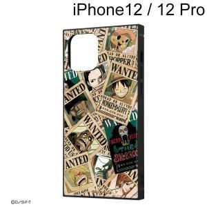 ワンピース iPhone 12 / iPhone 12 Pro (6.1インチ) 耐衝撃ハイブリッドケース KAKU 手配書 IQ-OP27K3TB/OP007 (メール便送料無料)|bigstar