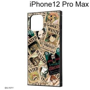 ワンピース iPhone 12 Pro Max (6.7インチ) 耐衝撃ハイブリッドケース KAKU 手配書 IQ-OP28K3TB/OP007 (メール便送料無料)|bigstar