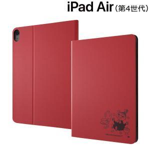 ムーミン iPad Air 2020年モデル 10.9inch 第4世代 レザーケース/リトルミイ IJ-APA16LCR/MT016|bigstar