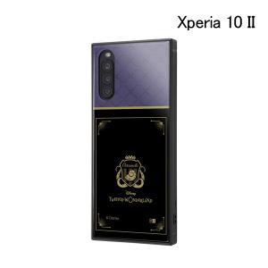 ディズニー Xperia 10 II /耐衝撃ハイブリッドケース KAKU ツイステッドワンダーランド/オクタヴィネル寮 IQ-DXP10K3TB-DG025 (メール便送料無料) bigstar