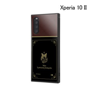 ディズニー Xperia 10 II /耐衝撃ハイブリッドケース KAKU ツイステッドワンダーランド/スカラビア寮 IQ-DXP10K3TB-DG026 (メール便送料無料) bigstar