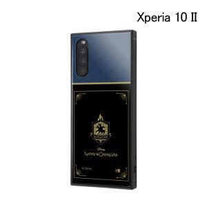ディズニー Xperia 10 II /耐衝撃ハイブリッドケース KAKU ツイステッドワンダーランド/イグニハイド寮 IQ-DXP10K3TB-DG028 (メール便送料無料) bigstar