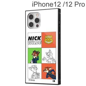 ディズニー iPhone 12 / 12 Pro 耐衝撃ハイブリッドケース KAKU ニック_01 IQ-DP27K3TB/Z001 (メール便送料無料)|bigstar