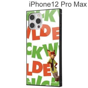 ディズニー iPhone 12 Pro Max 耐衝撃ハイブリッドケース KAKU ニック/I AM IQ-DP28K3TB/Z003 (メール便送料無料)|bigstar