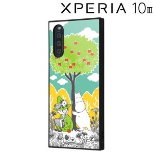 ムーミン Xperia 10 III 耐衝撃ハイブリッドケース KAKU/コミック_3 IQ-AXP10M3K3TB/MT011 (メール便送料無料)|bigstar
