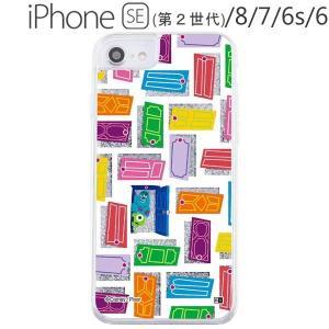 ディズニー・ピクサー iPhone SE(第2世代) / 8 / 7 / 6s / 6 ラメ グリッターケース ドア IJ-DP76LG1S/MI5 (メール便送料無料) bigstar