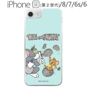 トムとジェリー iPhone SE(第2世代) / 8 / 7 / 6s / 6 ラメ グリッターケース シャボン玉 IJ-WP76LG1S/TJ15 (メール便送料無料) bigstar