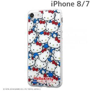 ☆ サンリオ iPhone8 iPhone7(4.7インチ)専用 TPUケース+背面パネル/ハローキティ/ぎゅ〜! IJ-SRP7TP/HK010 (メール便送料無料) bigstar