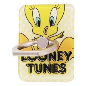 ☆ ルーニー・テューンズ スマートフォン用リング アクリル トゥイーティー JUMP IJ-WABKR/TW001 (メール便送料無料)|bigstar