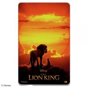 ☆ ディズニー ディズニー映画『ライオン・キング』 ICカードステッカー『ライオン・キング/ポスター』 IN-DICS/LK01|bigstar