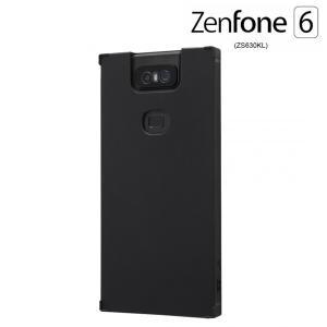 ☆ ASUS ZenFone 6 ZS630KL (6.4インチ) 専用 耐衝撃ソフトケース KAKU ブラック IS-RAZ6TK1/B (メール便送料無料)|bigstar