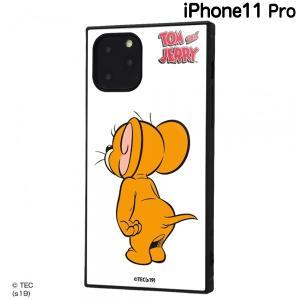 ☆ トムとジェリー iPhone11 Pro(5.8インチ)専用 耐衝撃ハイブリッドケース KAKU ジェリー IQ-WP23K3TB/TJ001 (メール便送料無料) bigstar