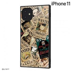 ☆ ワンピース iPhone11(6.1インチ)専用 耐衝撃ハイブリッドケース KAKU 手配書 IQ-OP21K3TB/OP003 (メール便送料無料)|bigstar