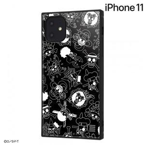 ☆ ワンピース iPhone11(6.1インチ)専用 耐衝撃ハイブリッドケース KAKU 海賊旗マーク IQ-OP21K3TB/OP004 (メール便送料無料)|bigstar