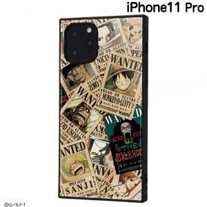 ☆ ワンピース iPhone11 Pro(5.8インチ)専用 耐衝撃ハイブリッドケース KAKU 手配書 IQ-OP23K3TB/OP003 (メール便送料無料)|bigstar