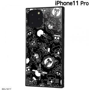 ☆ ワンピース iPhone11 Pro(5.8インチ)専用 耐衝撃ハイブリッドケース KAKU 海賊旗マーク IQ-OP23K3TB/OP004 (メール便送料無料)|bigstar