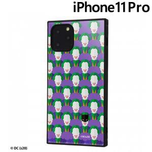 ☆ バットマン iPhone 11Pro (5.8インチ) 耐衝撃ハイブリッドケース KAKU PLAYFUL IQ-WP23K3TB/BM009 (メール便送料無料)|bigstar