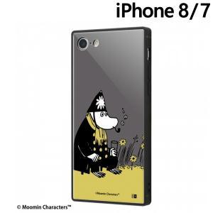 ☆ ムーミン iPhone8 iPhone7(4.7インチ)専用 耐衝撃ケース KAKU トリプルハイブリッド 署長さん IQ-AP7K3B/MT015 (メール便送料無料)|bigstar
