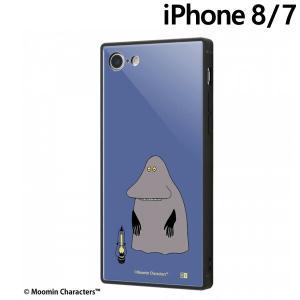 ☆ ムーミン iPhone8 iPhone7(4.7インチ)専用 耐衝撃ケース KAKU トリプルハイブリッド モラン IQ-AP7K3B/MT018 (メール便送料無料)|bigstar