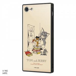 ☆ トムとジェリー iPhone8 iPhone7(4.7インチ)専用 耐衝撃ケース KAKU トリプルハイブリッド 授業 IQ-WP7K3B/TJ006 (メール便送料無料)|bigstar