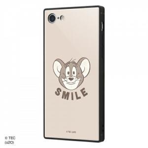 ☆ トムとジェリー iPhone8 iPhone7(4.7インチ)専用 耐衝撃ケース KAKU トリプルハイブリッド SMILE IQ-WP7K3B/TJ007 (メール便送料無料)|bigstar