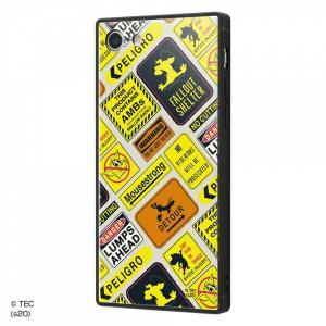 ☆ トムとジェリー iPhone8 iPhone7(4.7インチ)専用 耐衝撃ケース KAKU トリプルハイブリッド Warning IQ-WP7K3B/TJ009 (メール便送料無料)|bigstar
